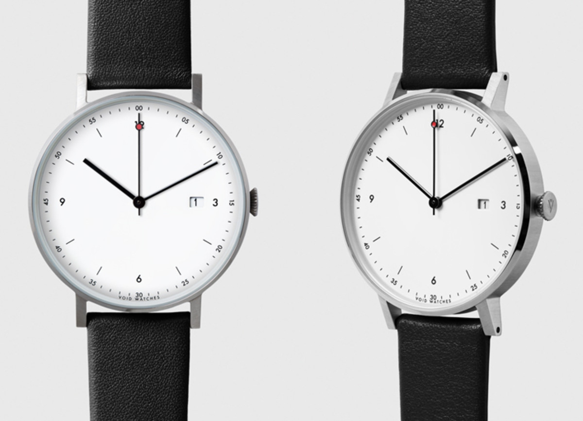 Void's PKG01 watch is classically modern luxury at an affordable price