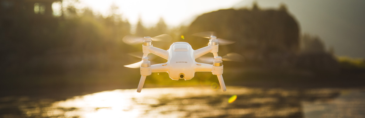 Yuneec takes drone flying mainstream with their new Breeze