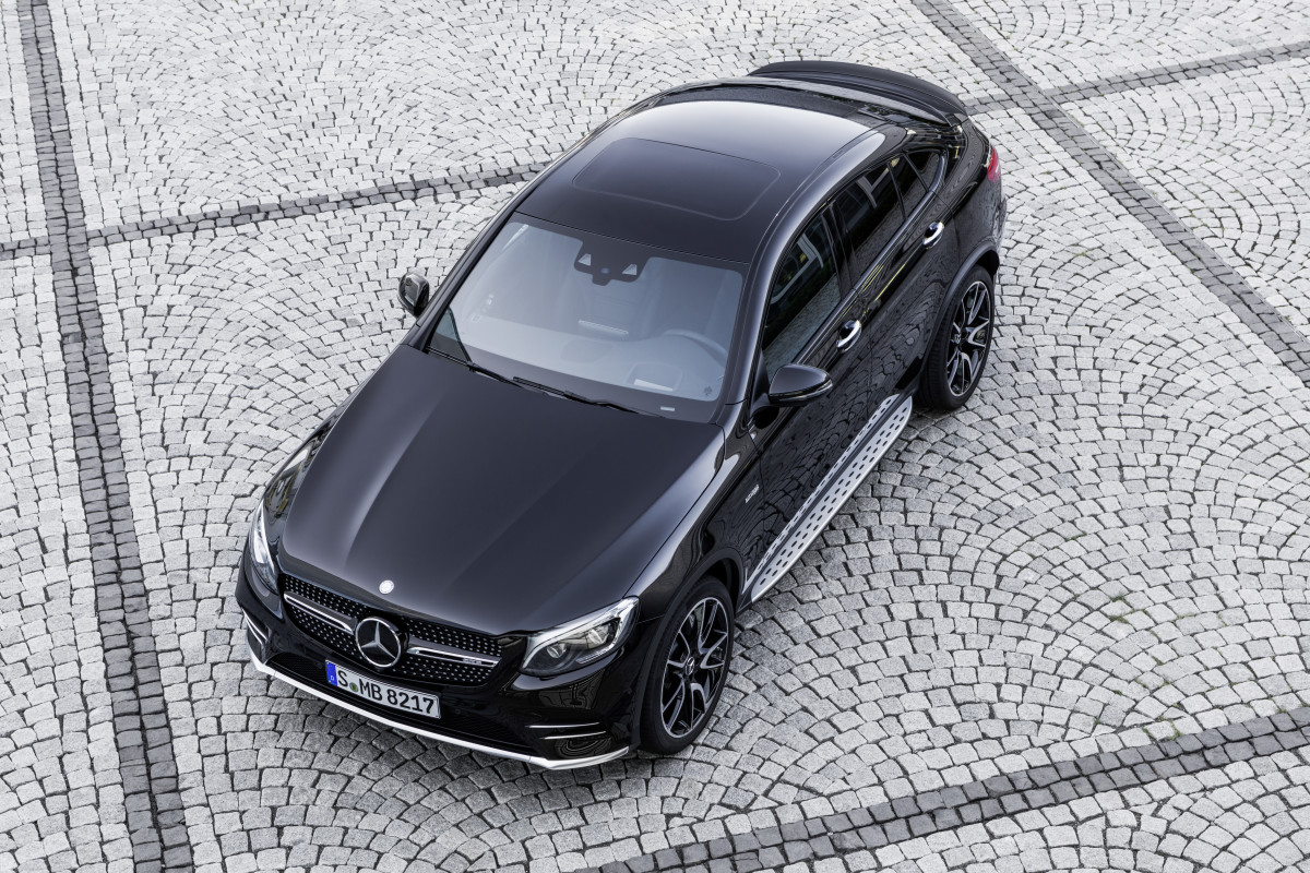 The Mercedes GLC Coupe is the latest model to get the AMG-tuned 3.0L V6