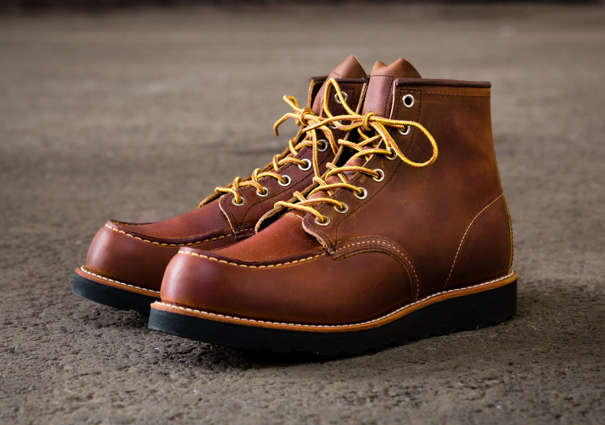 Red Wing Heritage Gives Its Moc Toe Boots An All New Look