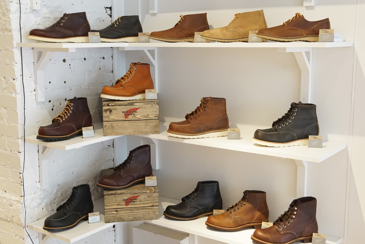 Red Wing Heritage Boots Interior Soho