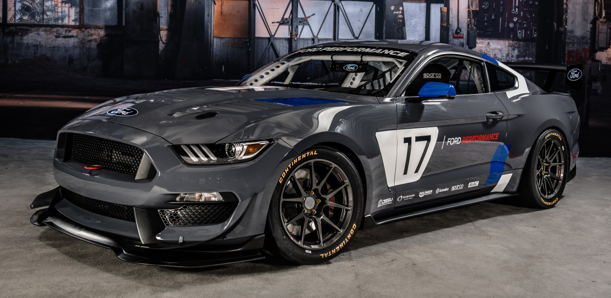 Ford debuts its GT4-ready Mustang