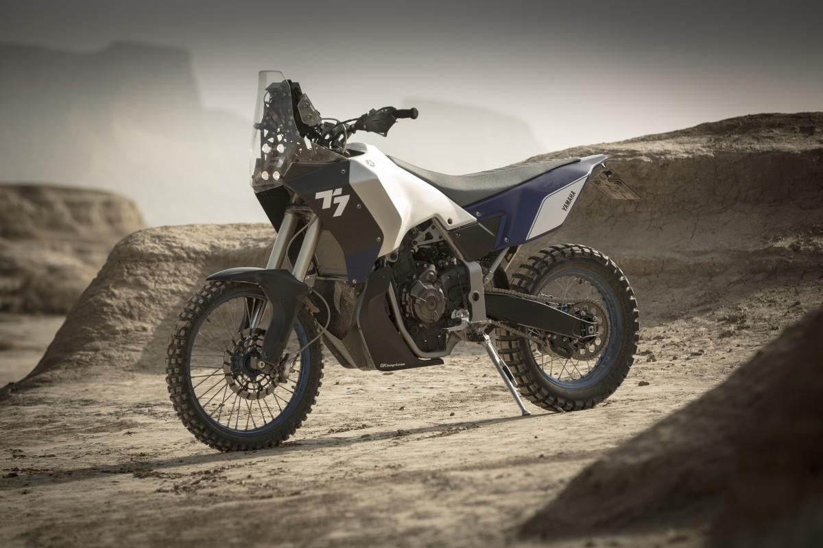 Yamaha T7 Concept Front Profile