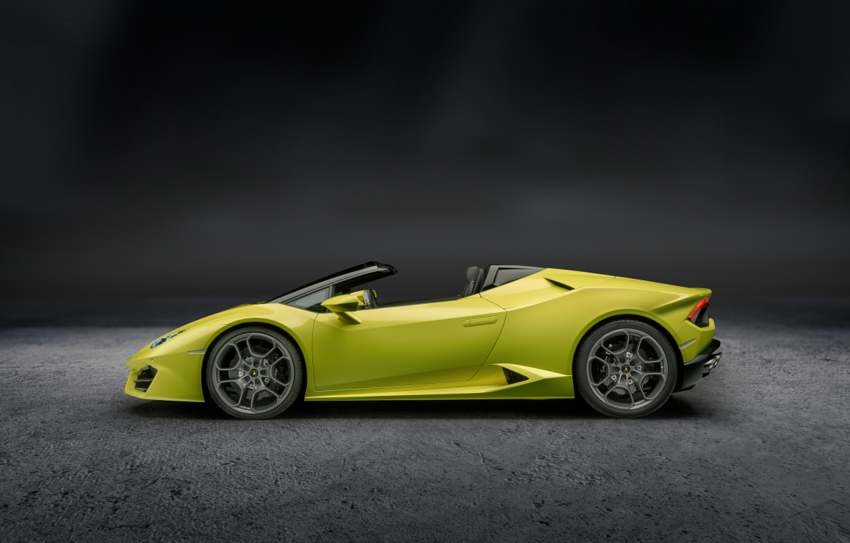 Lamborghini RWD Spyder Top Down