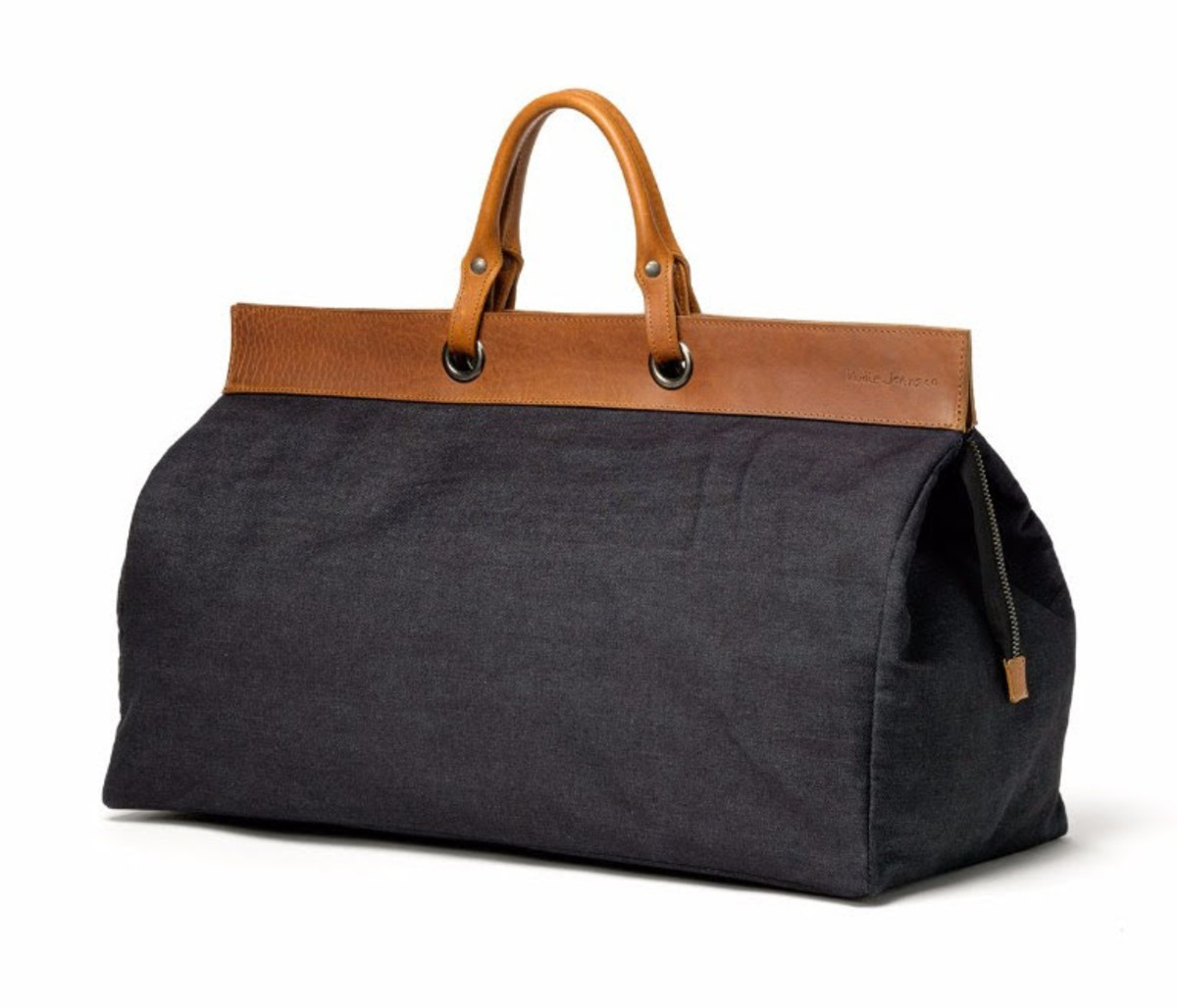 Nudie Eriksson Keepall Denim Bag