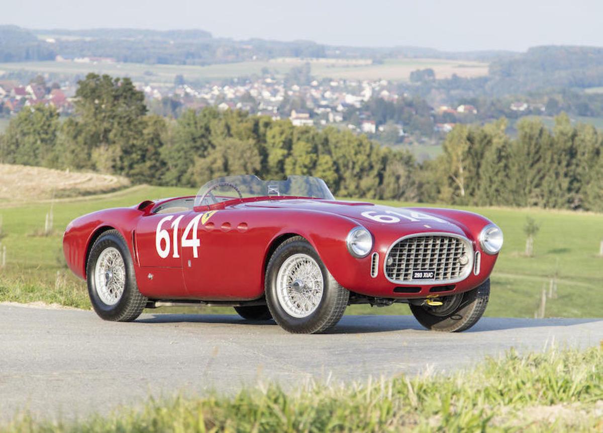 Ferrari 340 America Front Profile