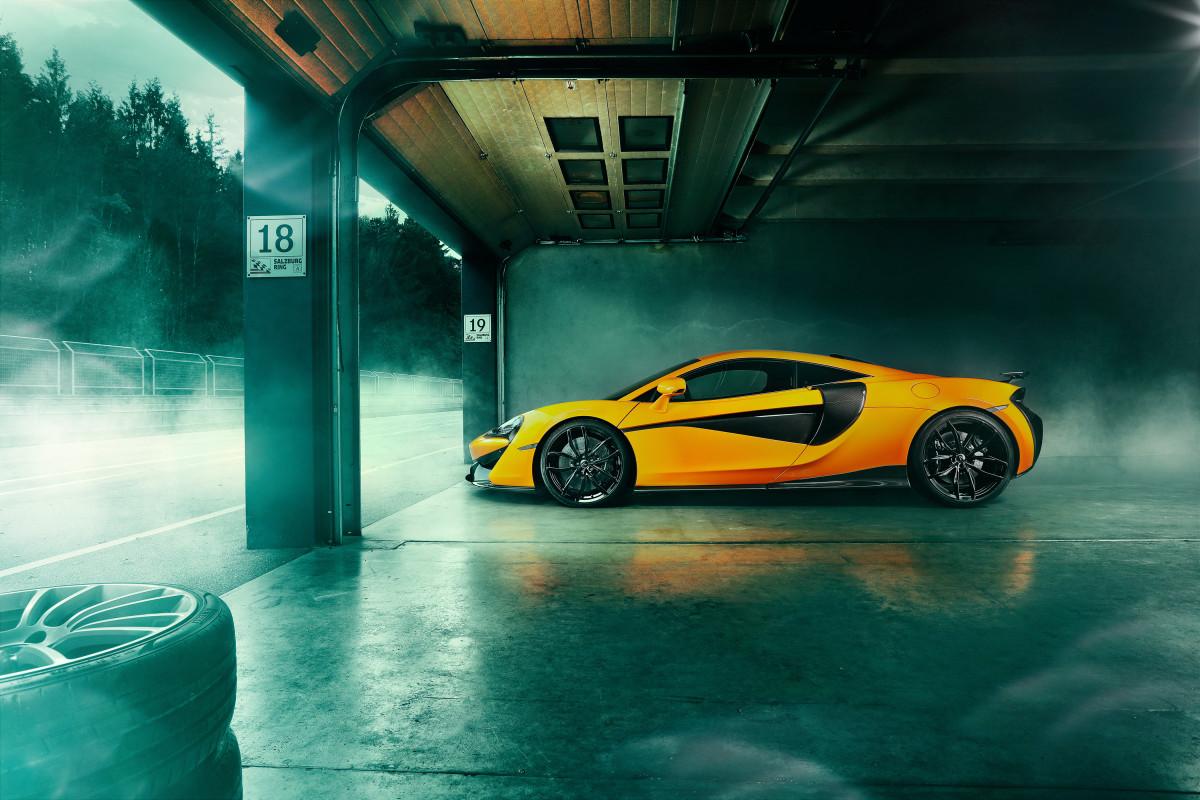 Novitec McLaren 570S Side