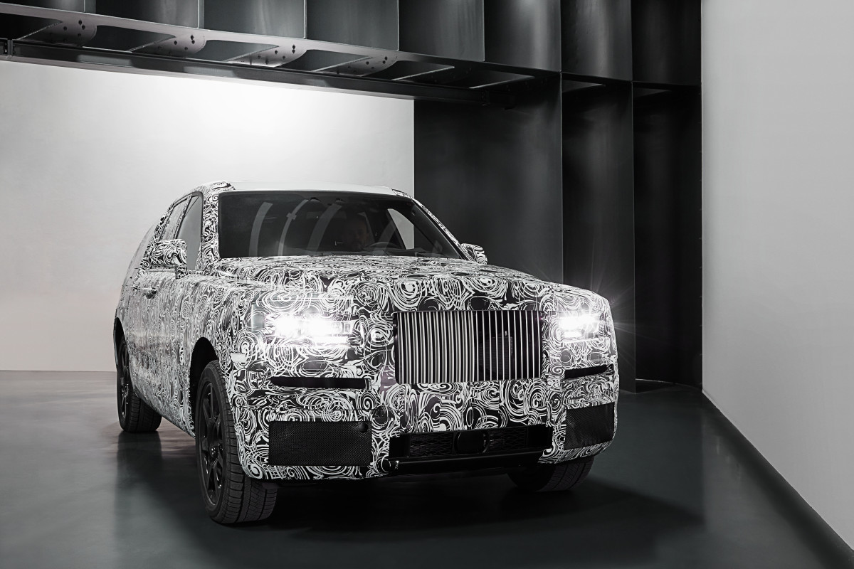 Rolls Royce Project Cullinan Studio
