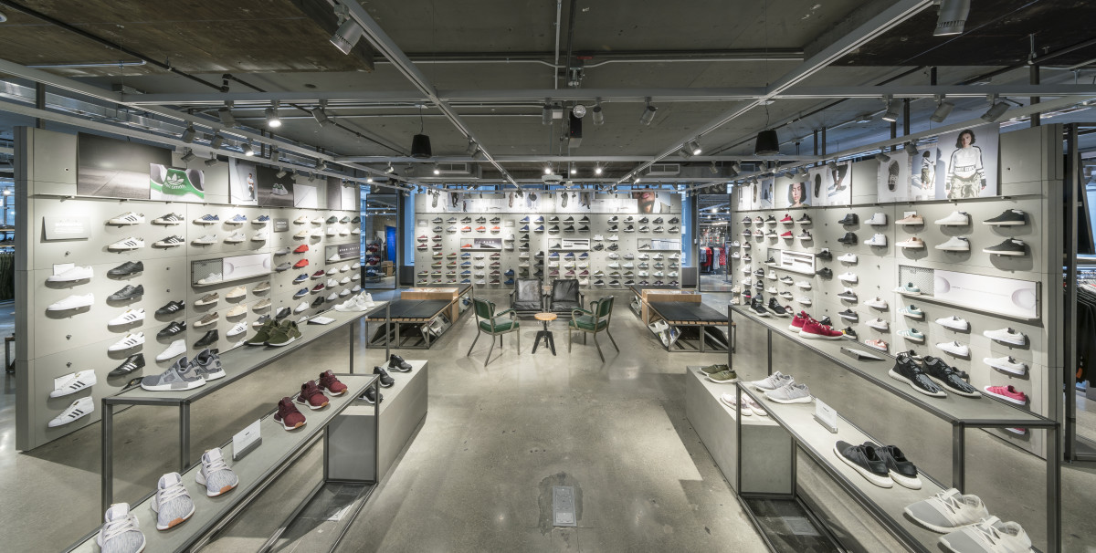 adidas NYC Flagship 5th Ave Shopping