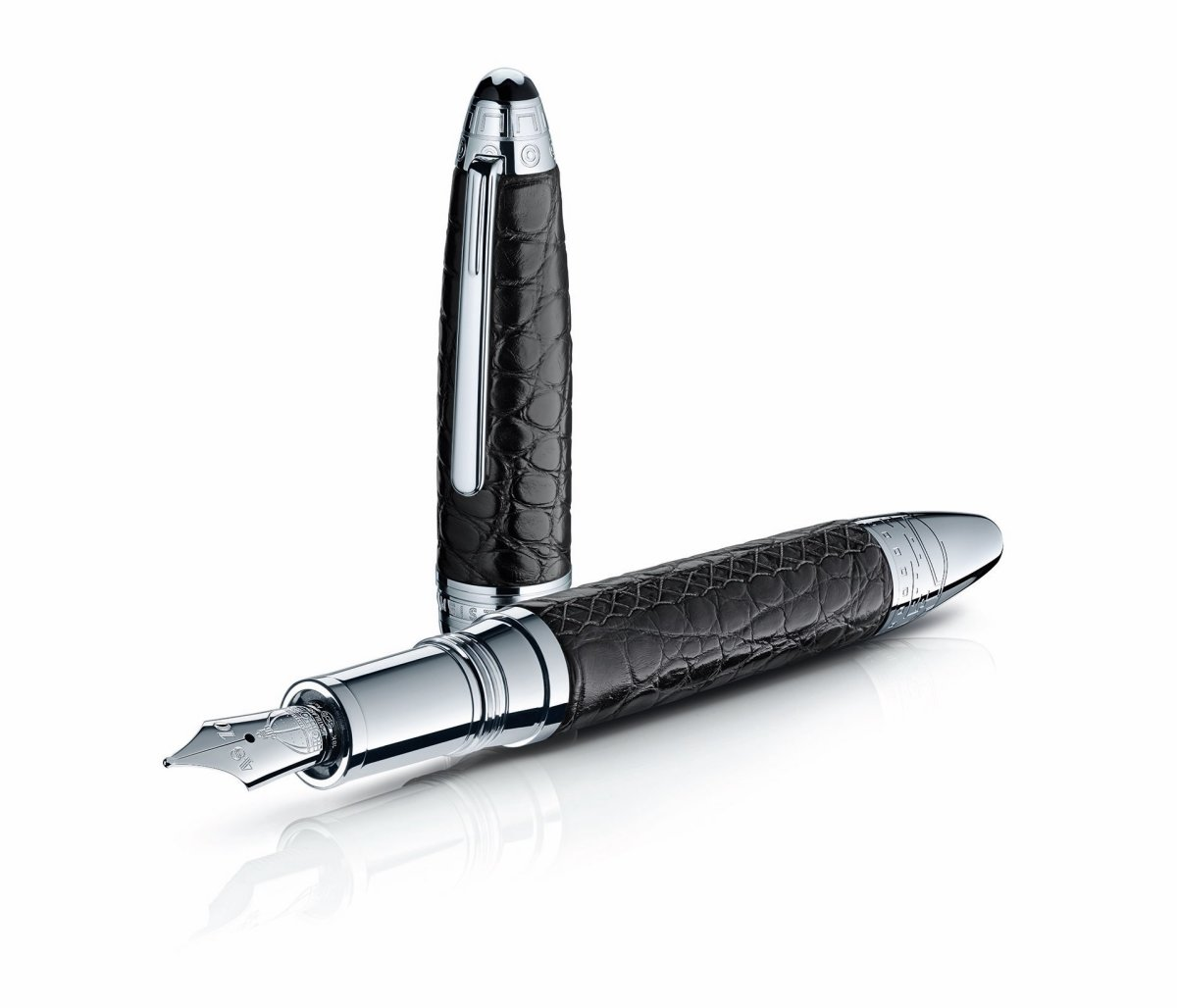 Montblanc Alligator Leather