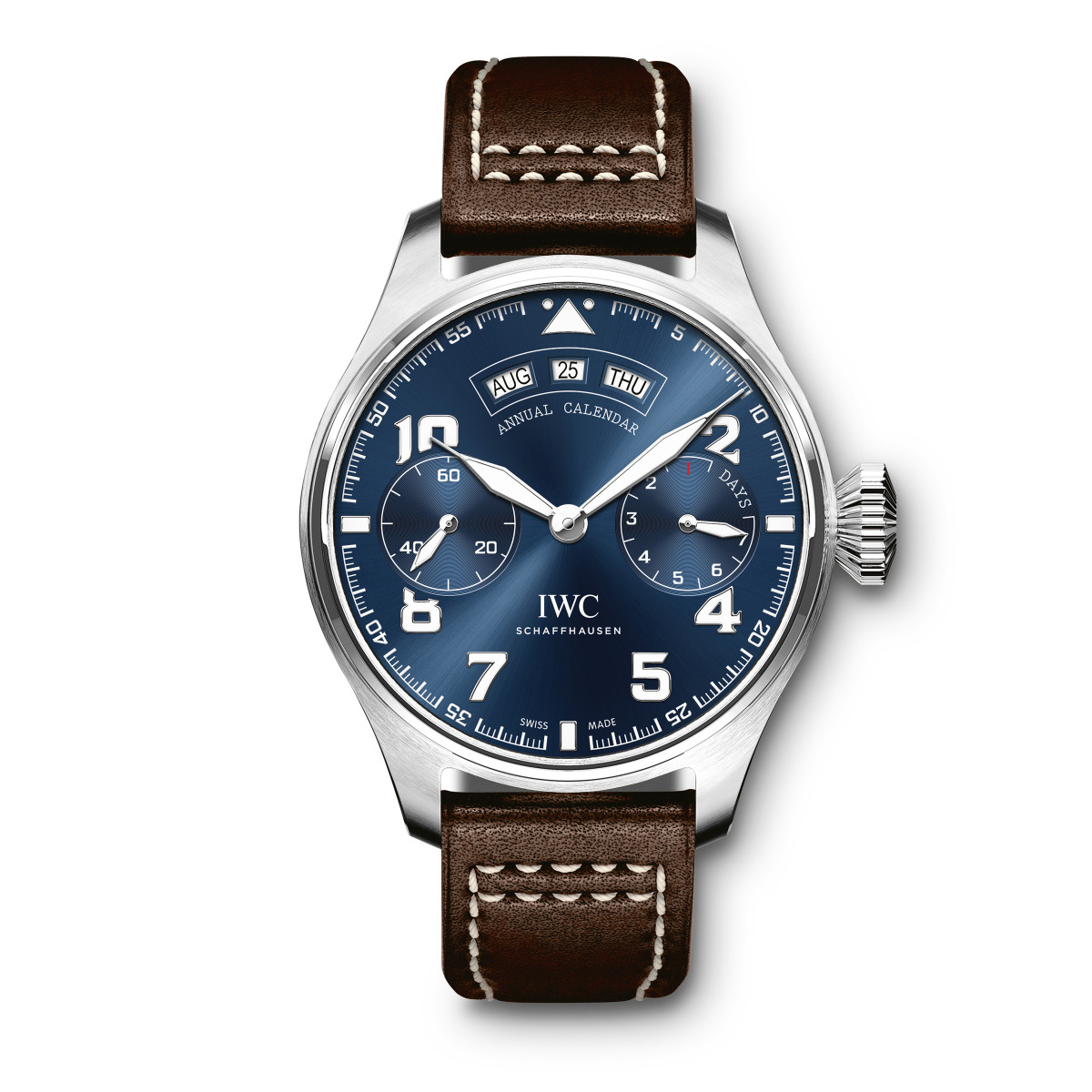 IWC White Gold Let Petit Prince Annual Calendar
