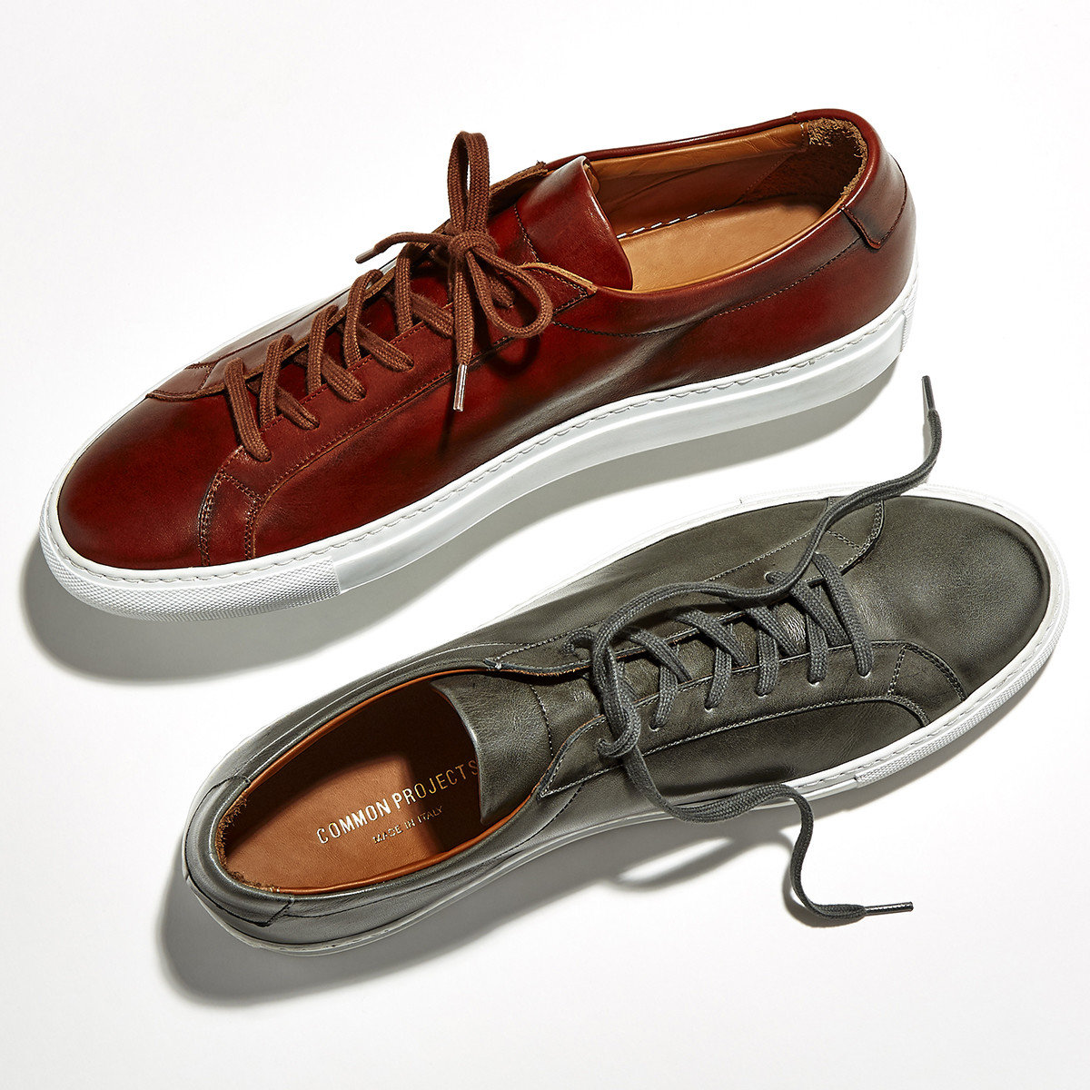 Barneys hand burnished Common Projects Achilles