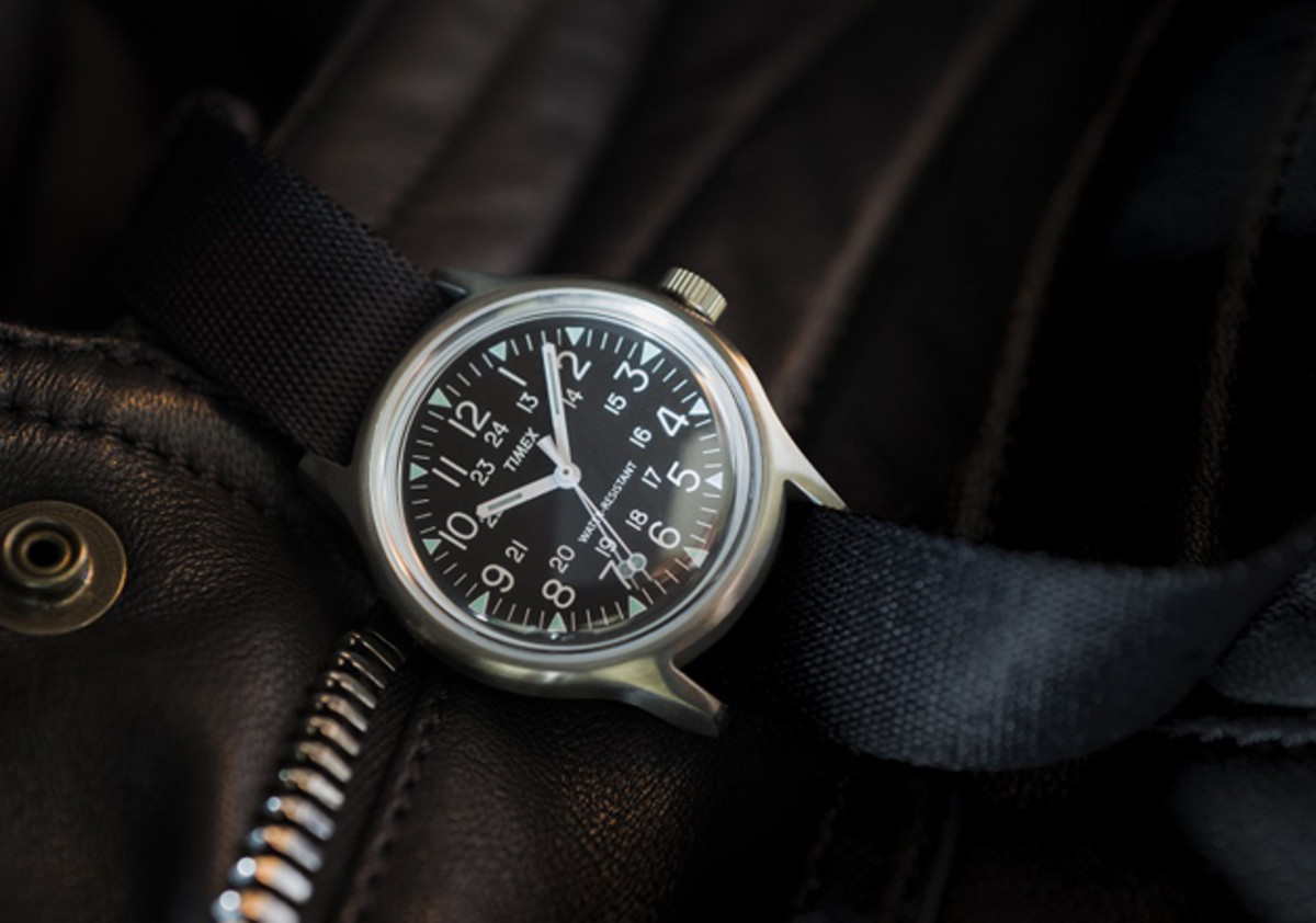 Timex Japan Stainless Steel Camper