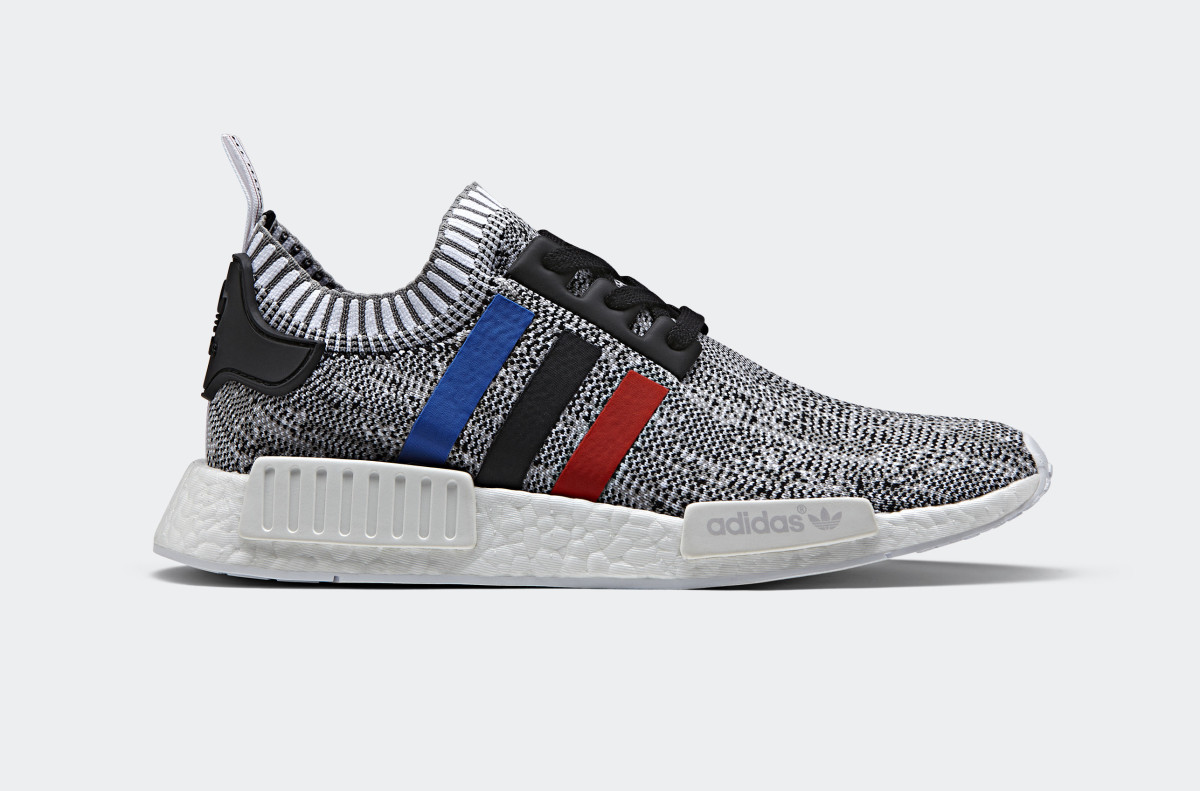 adidas NMD R1 Tri-Color White