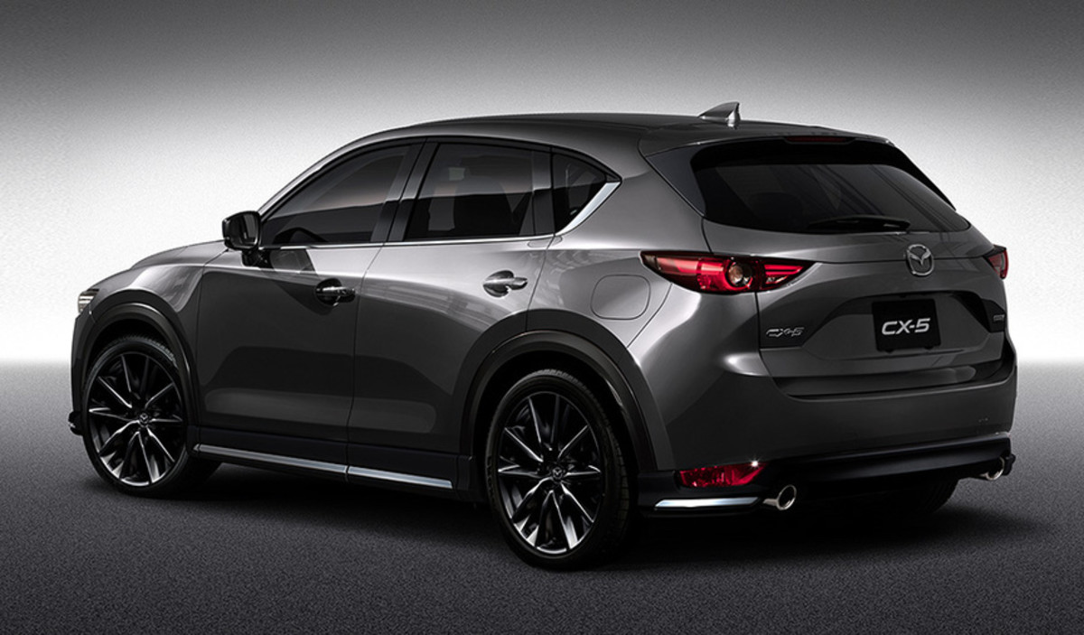 2017 Mazda CX-5 Custom Style Rear