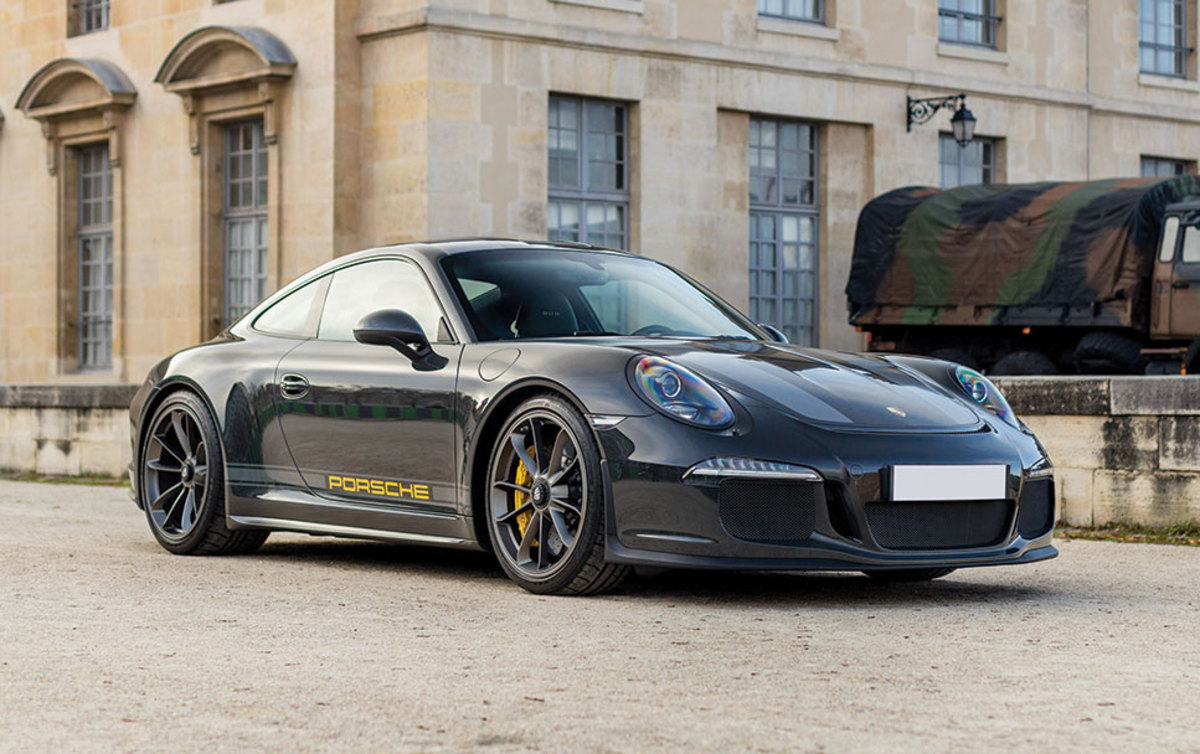 Porsche 911 R Slate Grey Paint to Sample