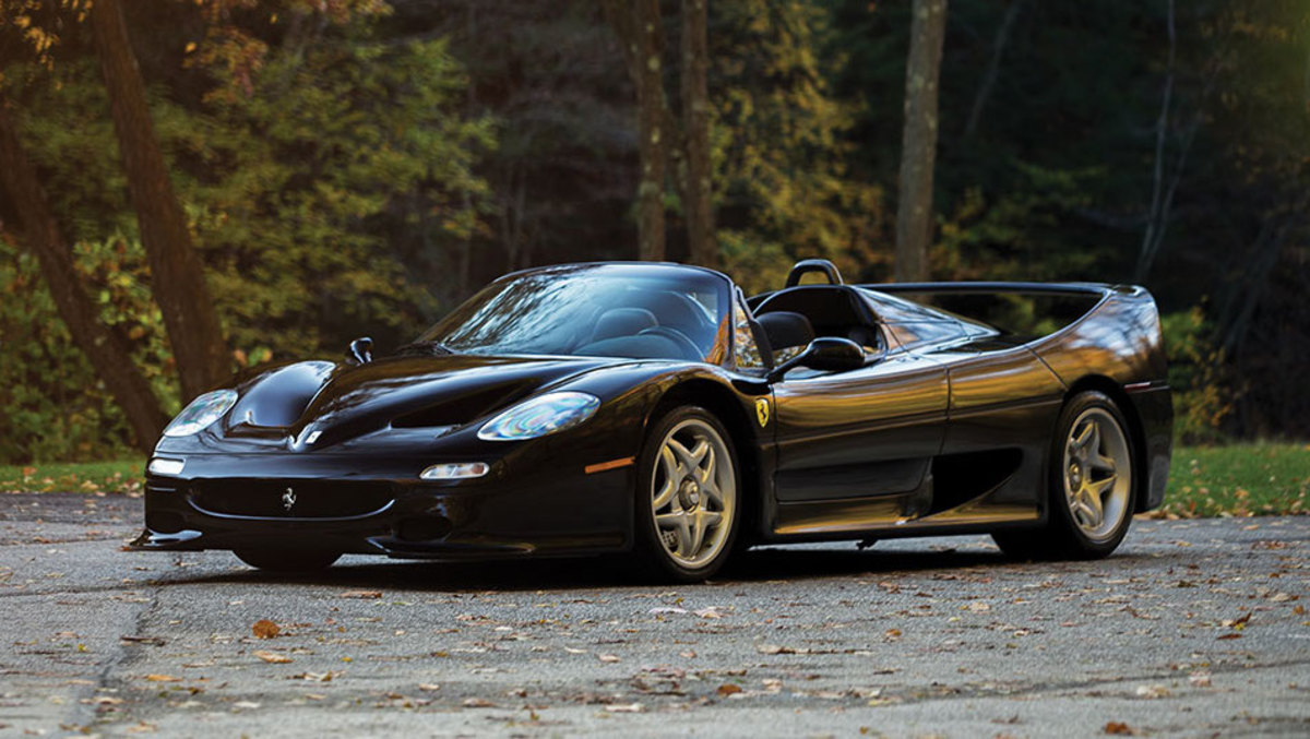 Ferrari F50 Nero Black