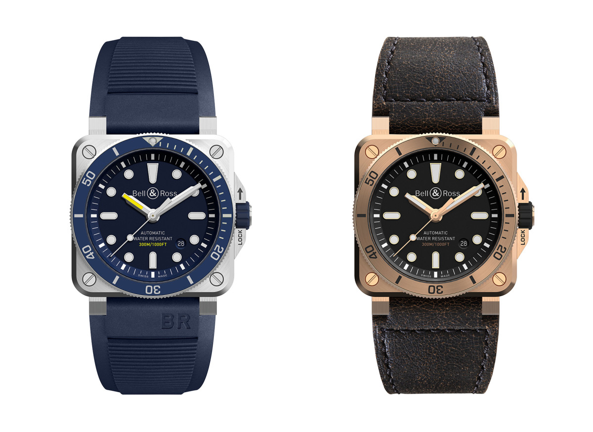 Bell & Ross 2018 Diver Collection