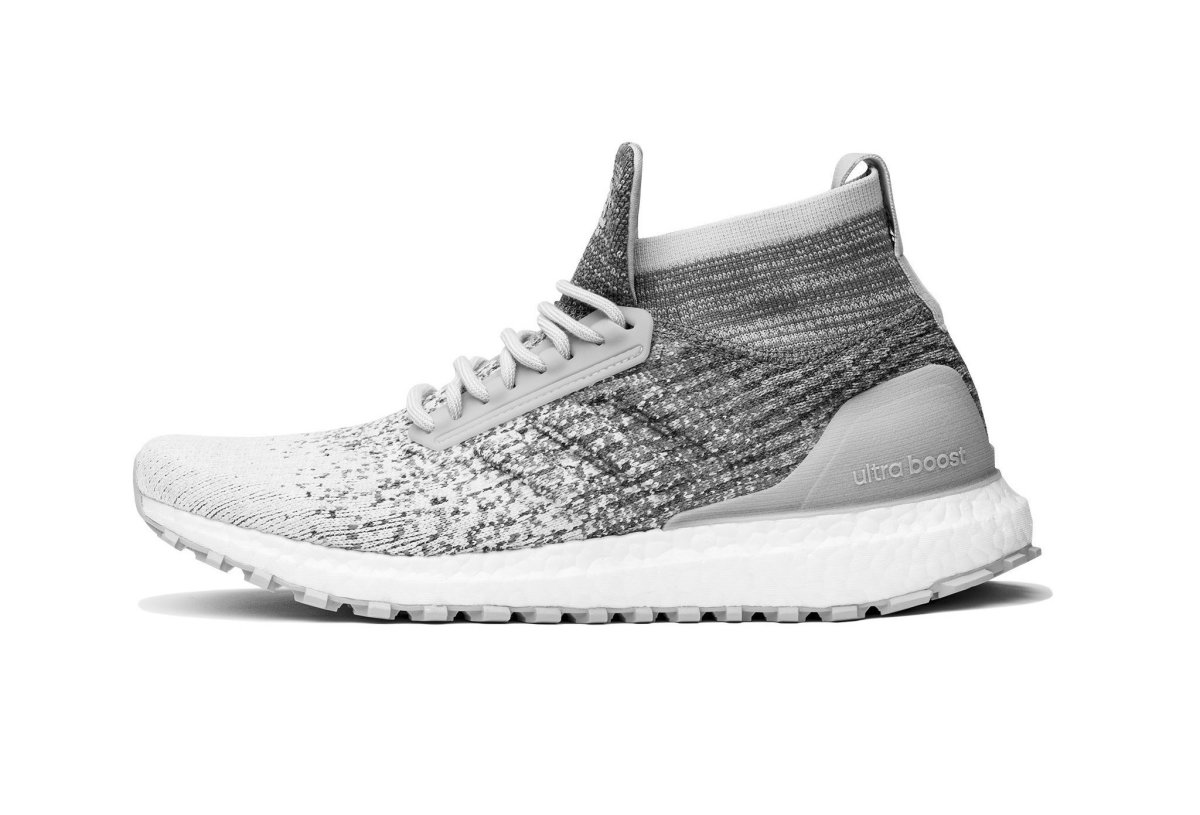 33601b4d804 adidas and Reigning Champ release a grey melange Ultra Boost ATR ...