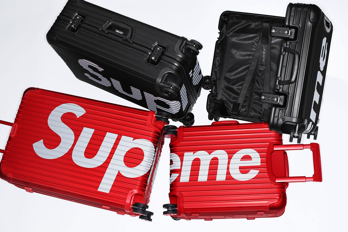 Supreme x Rimowa Topas Luggage
