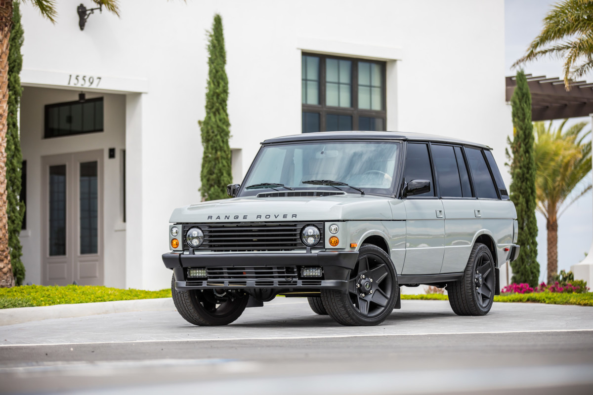 East Coast Defender Reveals Its Re Imagined Range Rover