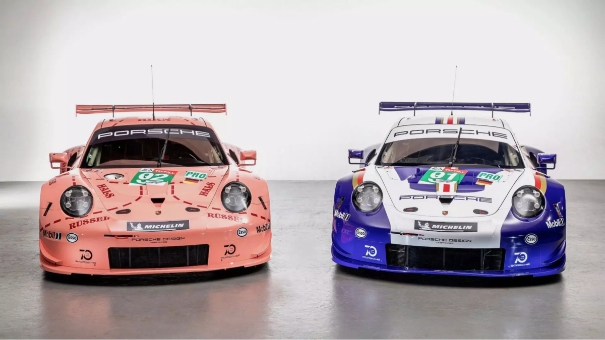Porsche Le Mans 2018 Liveries