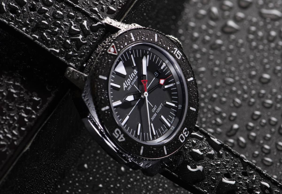 Alpina Seastrong GMT