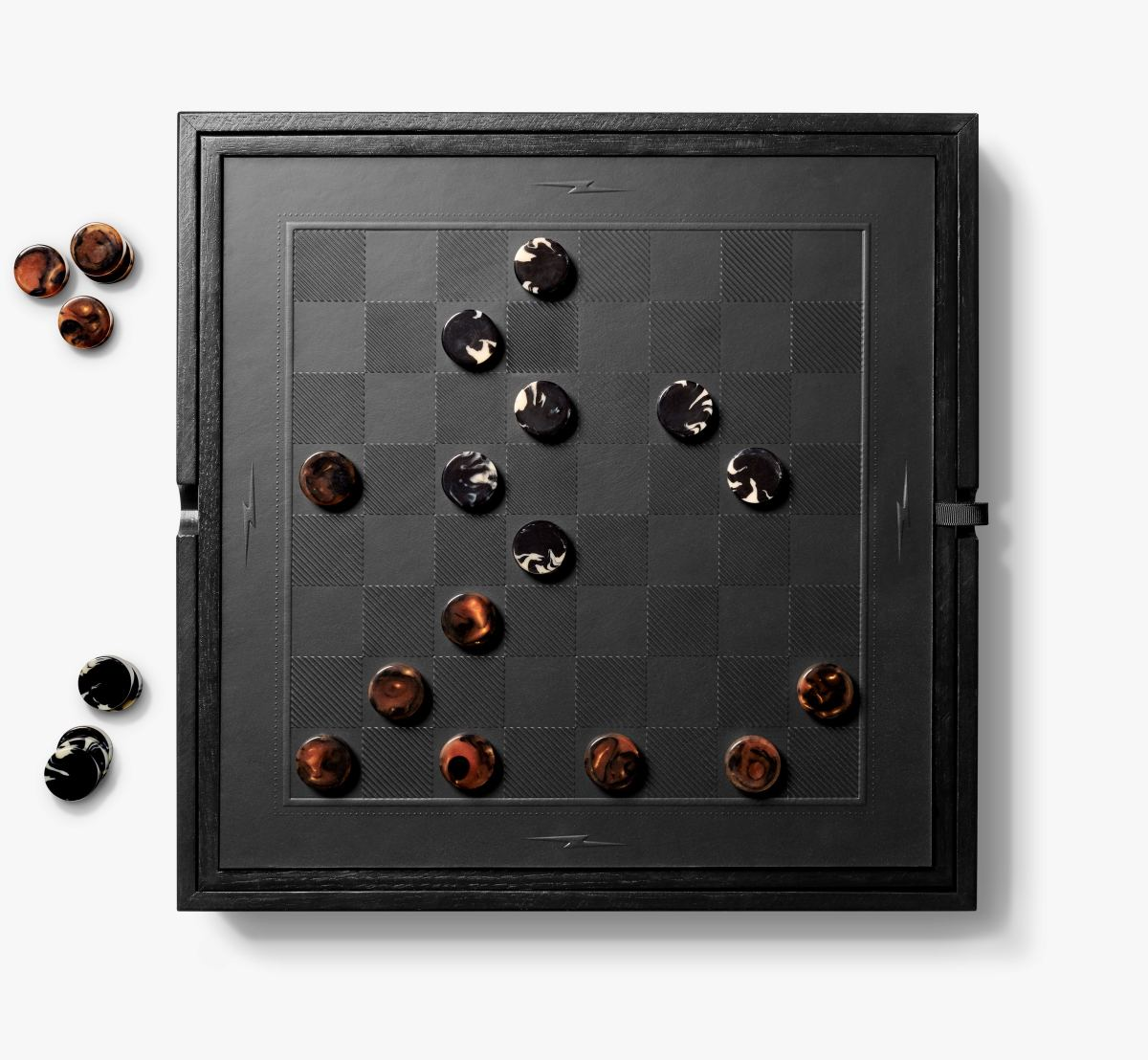 Shinola Backgammon Board