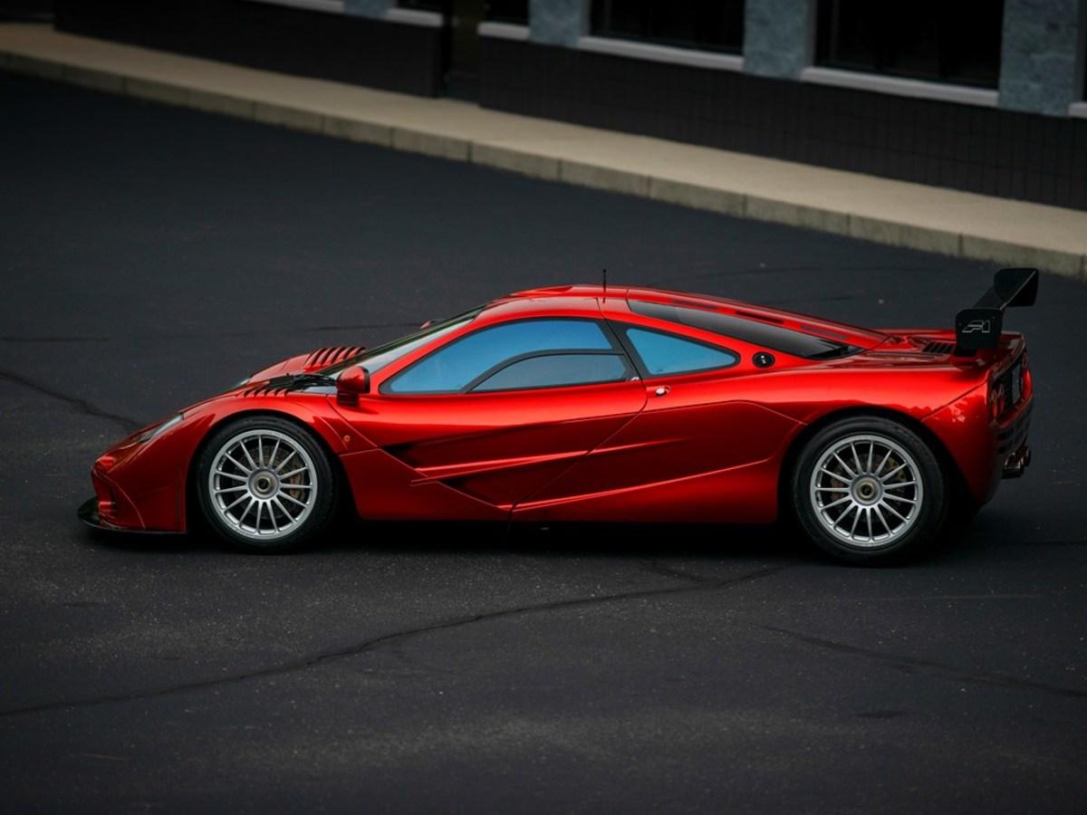 RM Sotheby's McLaren F1 Le Mans Spec