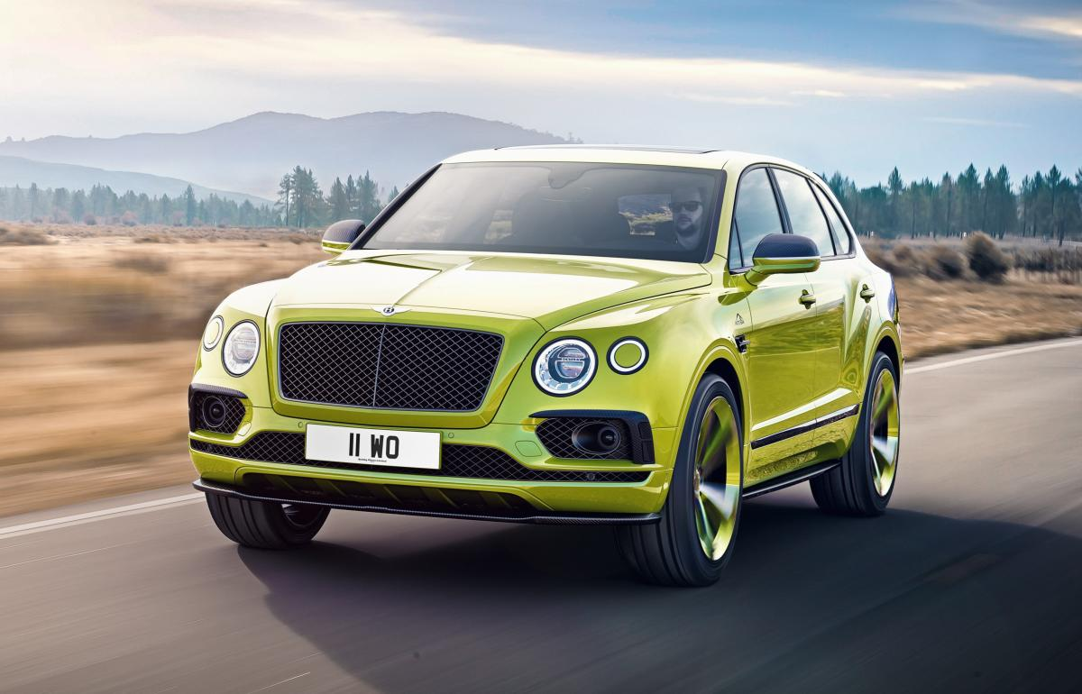 Bentley Bentayga Pikes Peak Edition