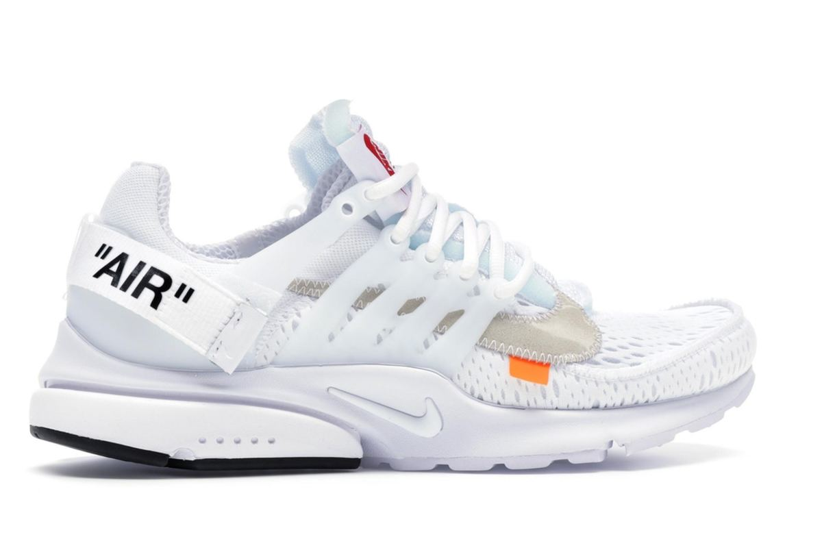 Nike White Off-White Presto