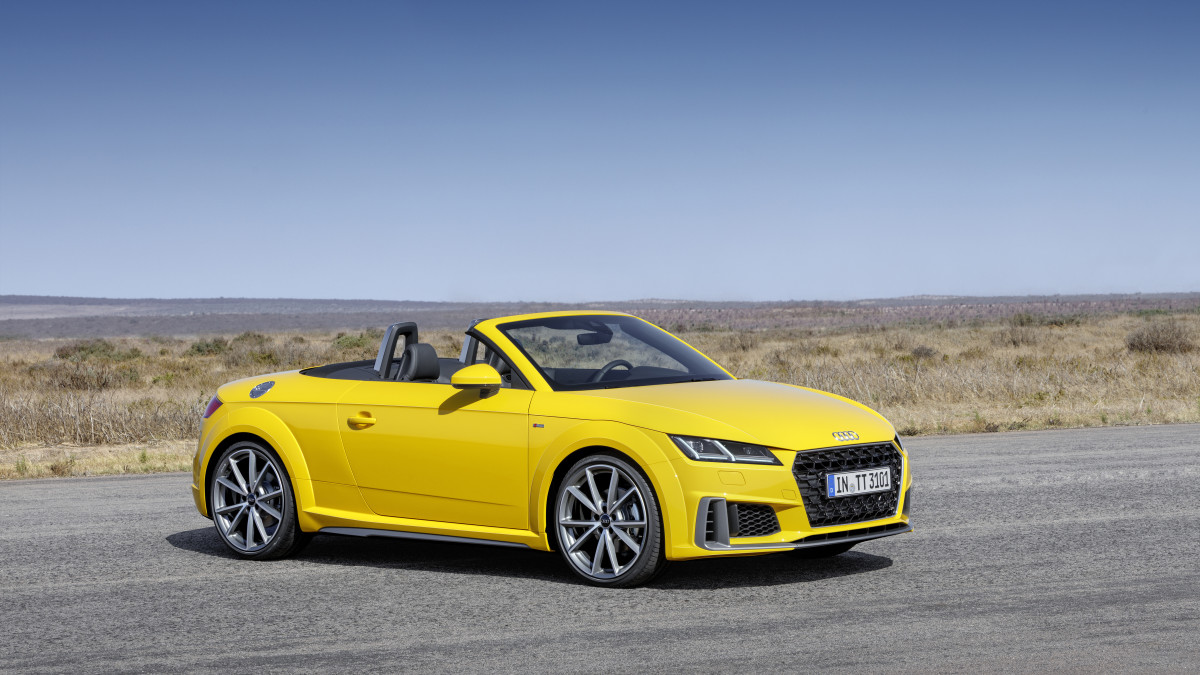Audi TT Refresh for 20th Anniversary