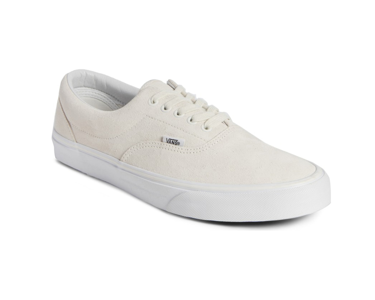 Vans Era in Blanc Suede ($39).