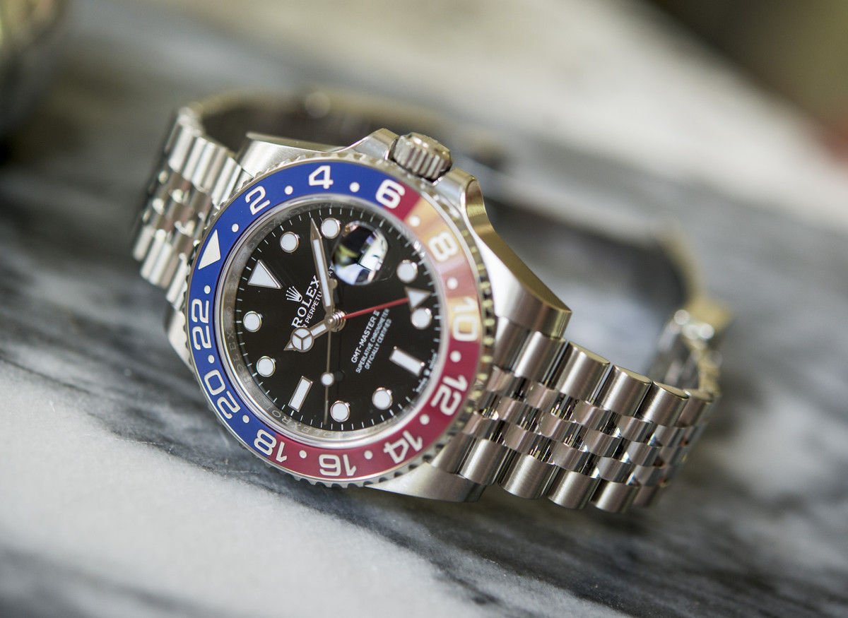 Rolex GMT Pepsi with Jubilee bracelet