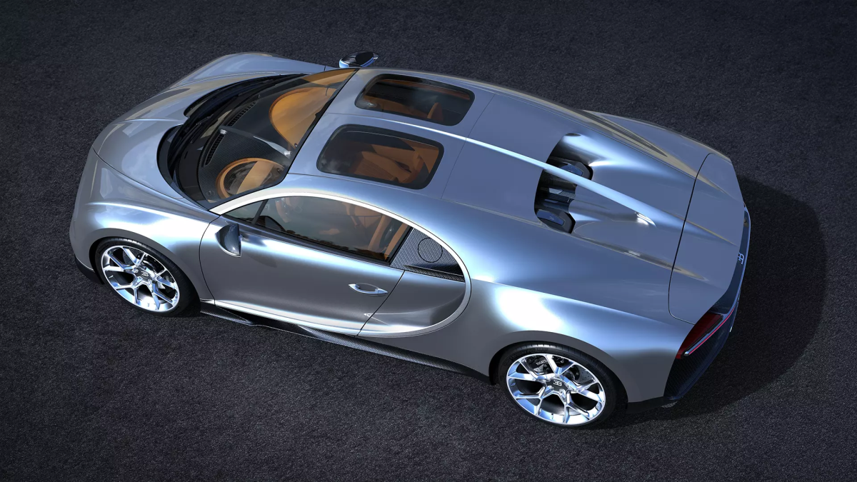 "Bugatti ""Sky View"" Glass Roof"