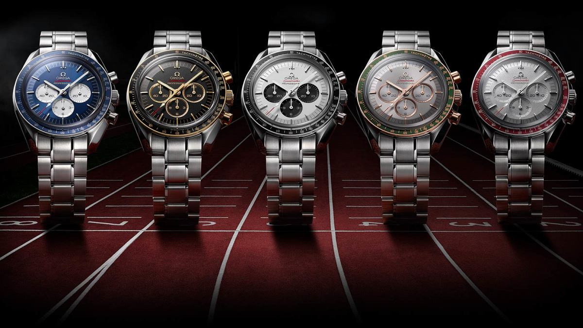 Omega Releases A Collection Of Speedmasters To Celebrate