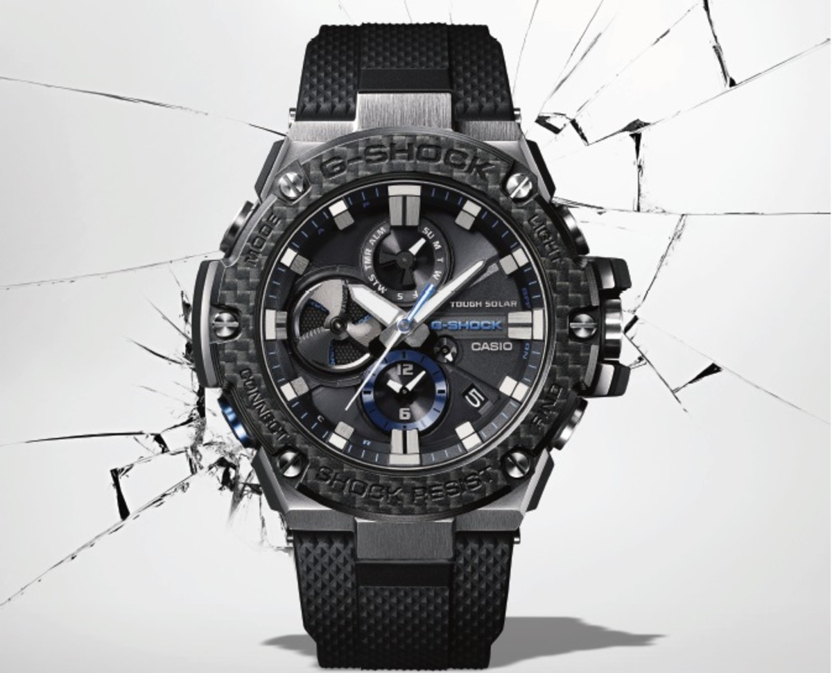 Casio G-Steel Bezel
