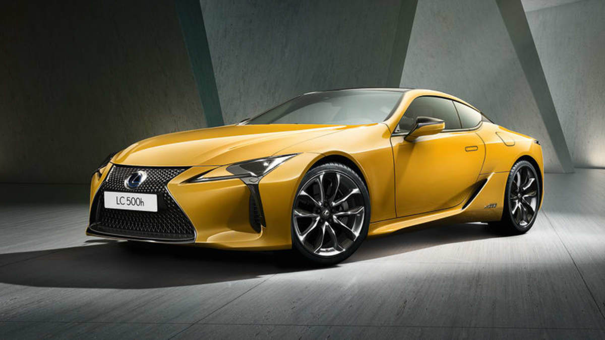lexus releases the lc500 in a new  u0026 39 naples yellow u0026 39  limited edition