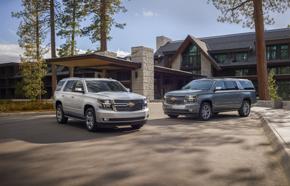 Chevrolet Tahoe and Suburban Premier Plus