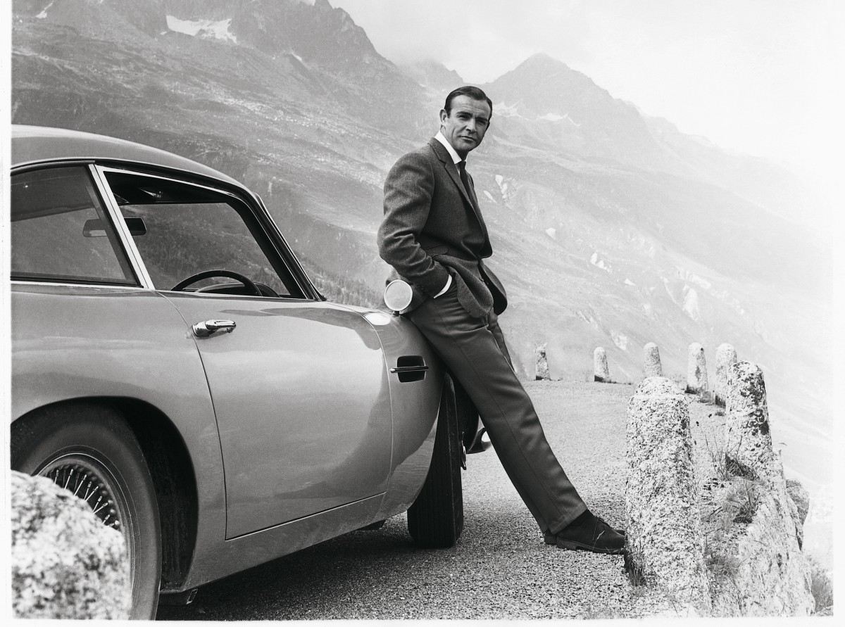 Sean Connery James Bond DB5