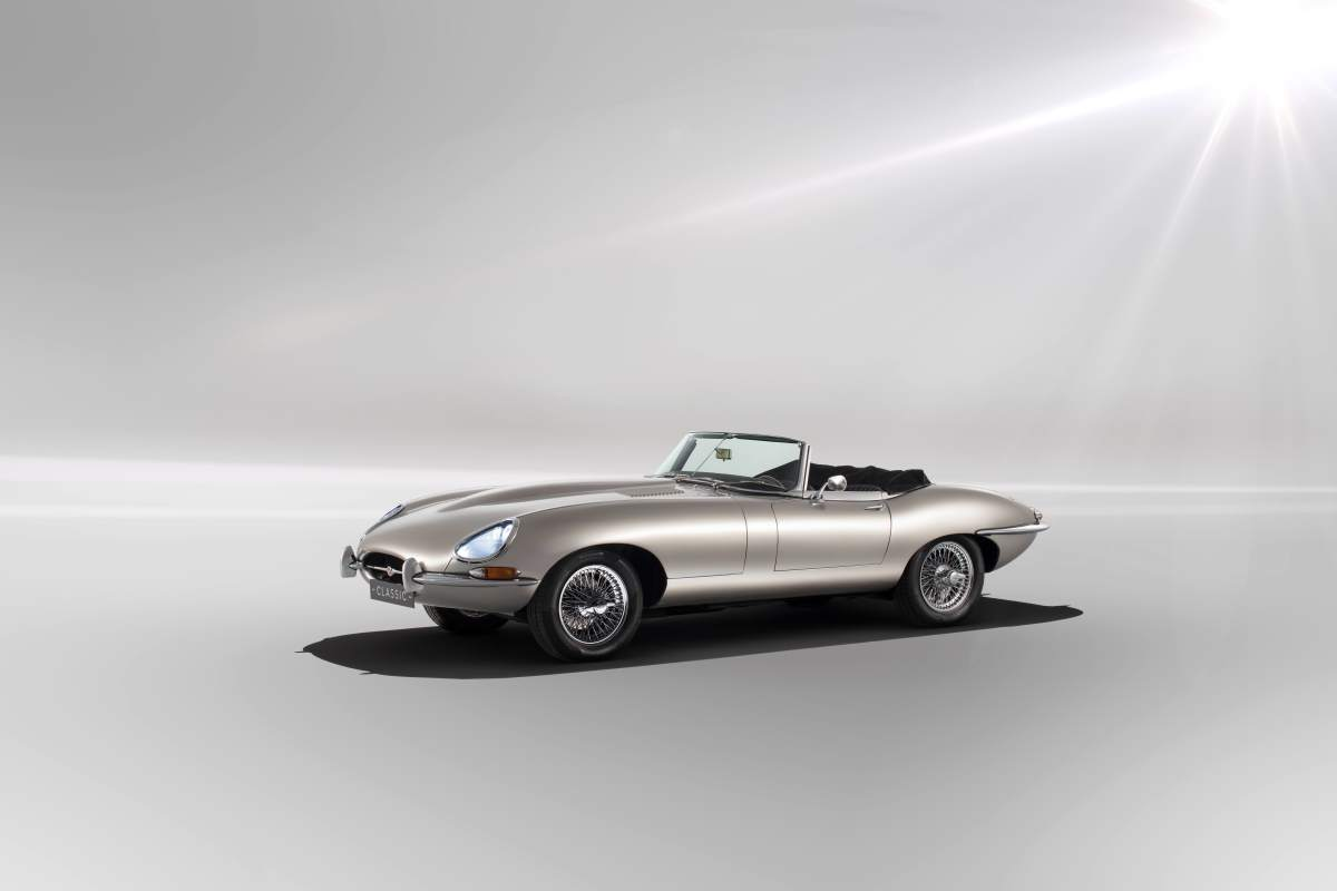 Jaguar Electric E-Type