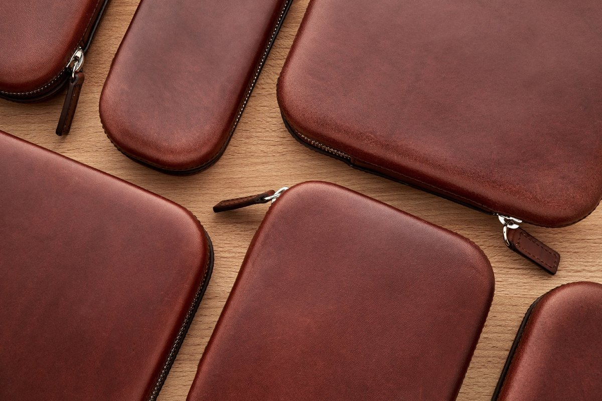 Hodinkee's moulded leather cases are a plush home for your favorite timepieces