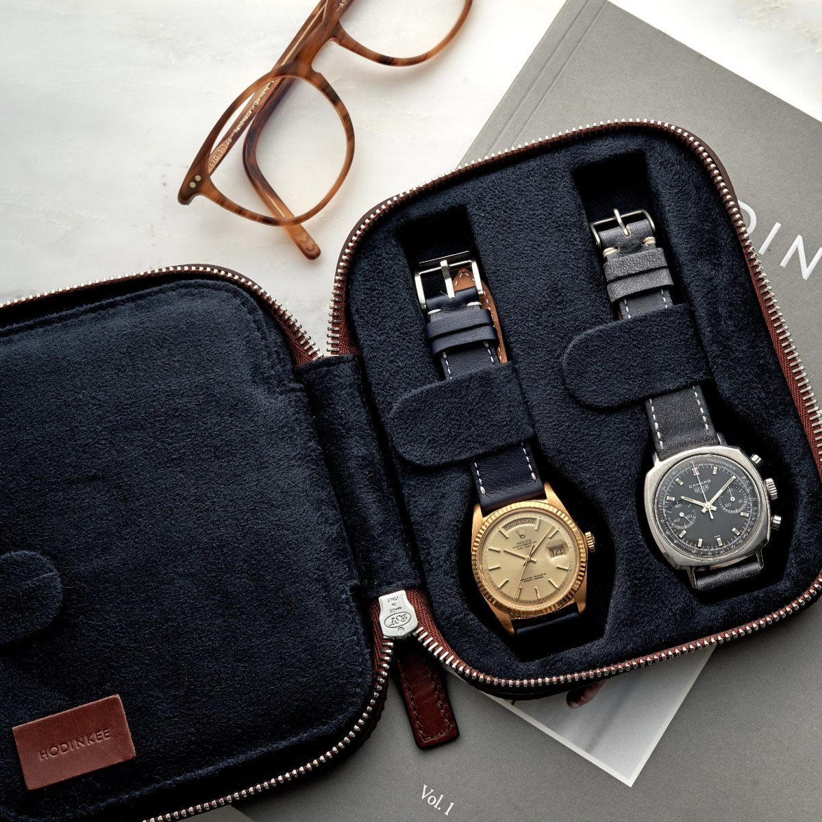 Hodinkee moulded watch cases