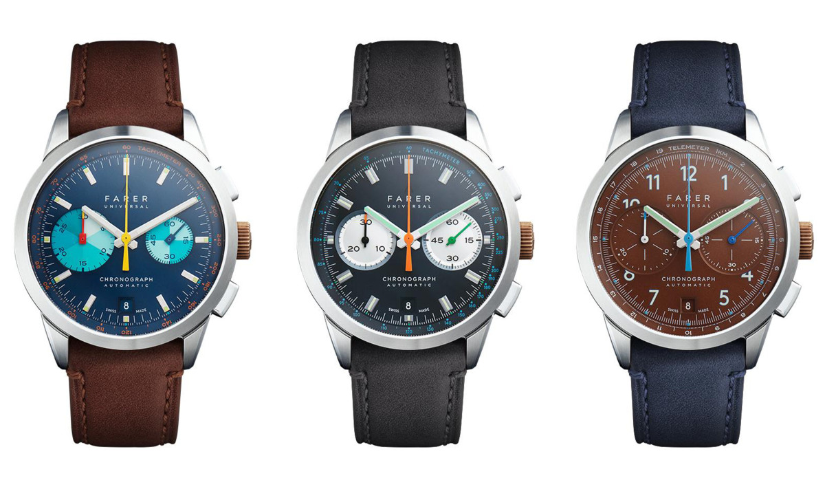 Farer Mechanical Chronographs