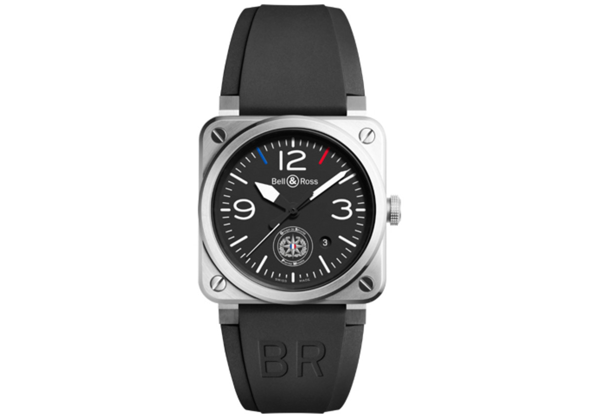 Bell & Ross has equipped the French Secret Service with their own BR 03s