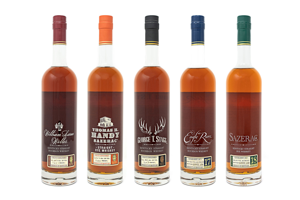 Buffalo Trace releases their 2018 Antique Collection Whiskeys