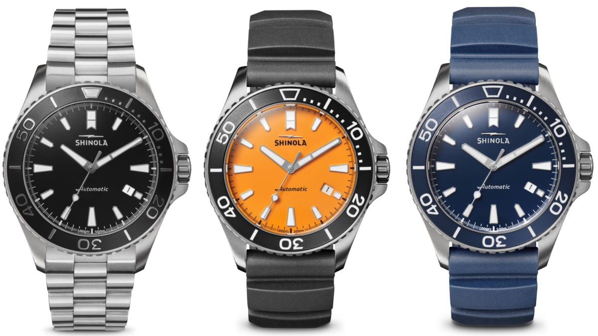The Shinola Monster Collection Celebrates The Great Lakes