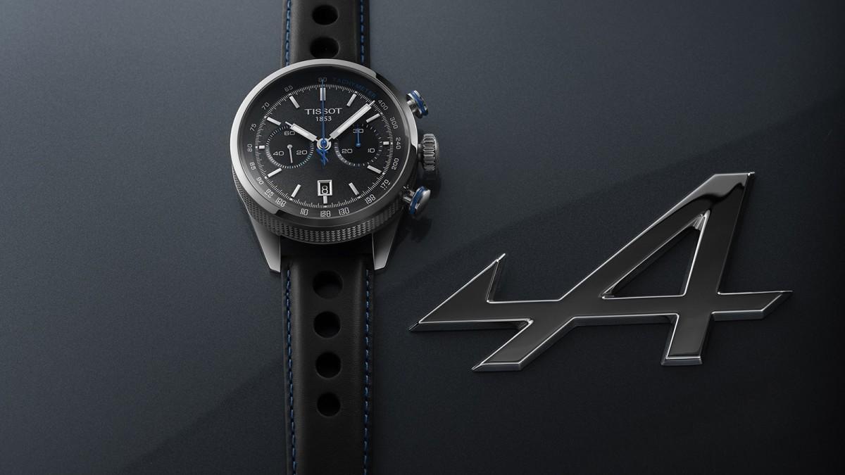 Tissot x Alpine On Board Chronograph