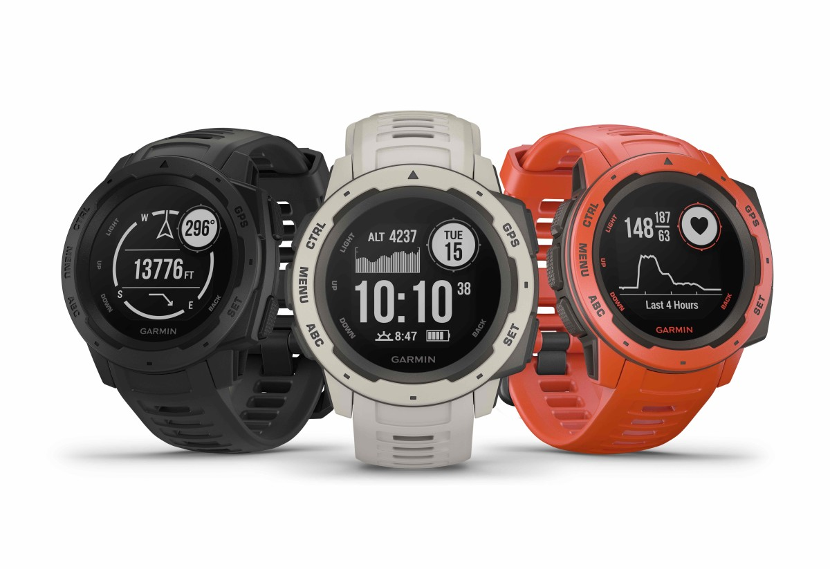 Garmin's new Instinct watch is ready to venture into the great outdoors