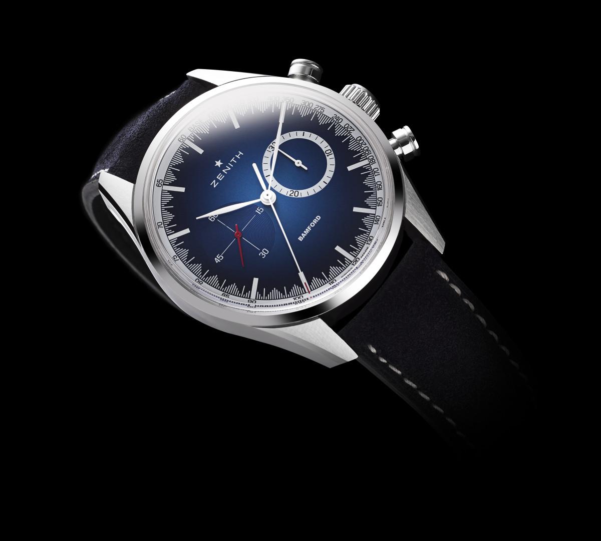 Bamford and Zenith reveal the Chronomaster El Primero 'Solar Blue'